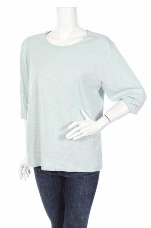 Дамска блуза Clothing & Co, Размер XL, Цвят Син, Памук, Цена 11,34лв.