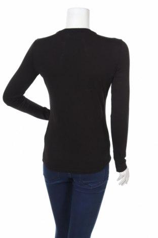 Дамска блуза Guess, Размер S, Цвят Черен, 60% памук, 40% модал, Цена 37,50лв.