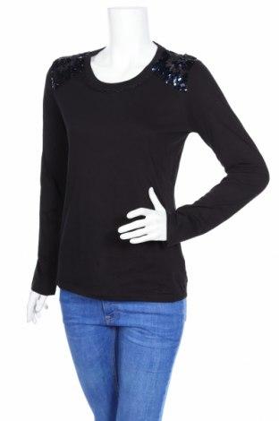 Дамска блуза Liu Jo, Размер XL, Цвят Черен, Памук, Цена 45,30лв.