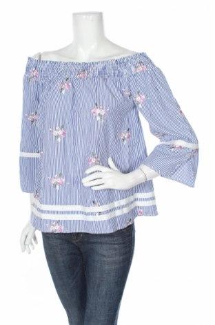 Дамска блуза Liu Jo, Размер M, Цвят Син, 90% полиестер, 10% памук, Цена 62,30лв.