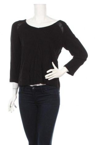 Дамска блуза Naf Naf, Размер M, Цвят Черен, Вискоза, Цена 41,76лв.