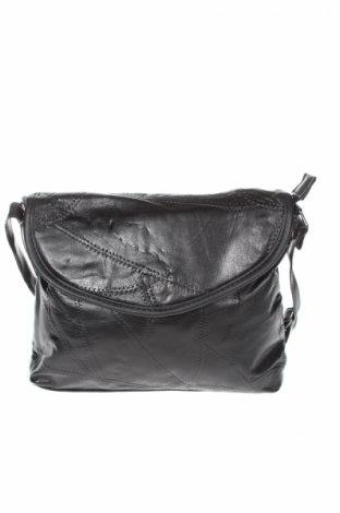 Damska torebka, Kolor Czarny, Skóra naturalna, eko skóra, Cena 41,85zł