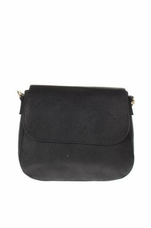 Γυναικεία τσάντα, Χρώμα Μαύρο, Δερματίνη, Τιμή 8,45€