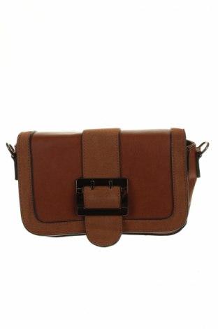 Γυναικεία τσάντα Max&Enjoy, Χρώμα Καφέ, Δερματίνη, Τιμή 11,43€