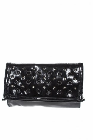 Дамска чанта Nine West, Цвят Черен, Еко кожа, Цена 20,58лв.