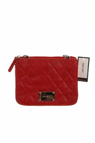 Дамска чанта Nine West, Цвят Червен, Еко кожа, Цена 43,68лв.