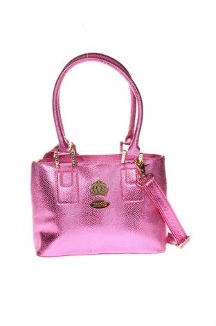 Dámska kabelka  Pompoos Design By Harald Gloockler, Farba Ružová, Eko koža , Cena  33,95€