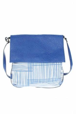 Дамска чанта Sashenka, Цвят Син, Еко кожа, Цена 14,44лв.
