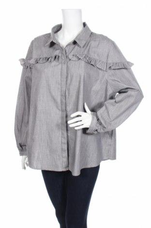 Дамска риза Alice&you, Размер XXL, Цвят Сив, Полиестер, Цена 4,46лв.