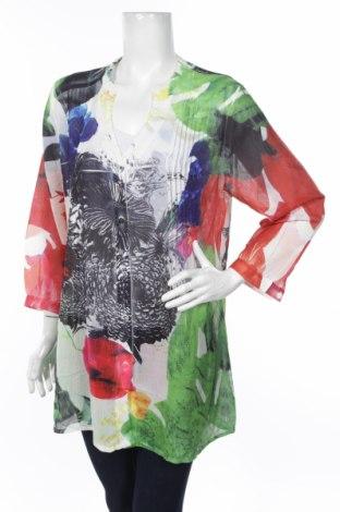 Дамска риза Caroline Morgan, Размер XL, Цвят Многоцветен, Полиестер, Цена 19,95лв.