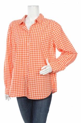 Дамска риза Old Navy, Размер XL, Цвят Оранжев, Памук, Цена 22,50лв.