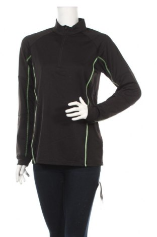 Damska sportowa bluzka James & Nicholson, Rozmiar XL, Kolor Czarny, 92% poliester, 8% elastyna, Cena 26,00zł