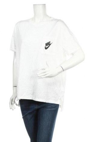 Tricou de femei Nike, Mărime XL, Culoare Alb, 44% modal, 42% bumbac, 14% poliamidă, Preț 73,28 Lei