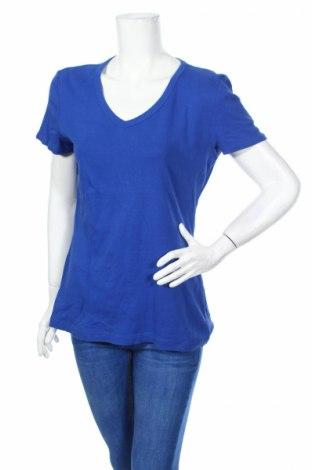 Γυναικείο t-shirt Now, Μέγεθος XL, Χρώμα Μπλέ, Βαμβάκι, Τιμή 5,84€