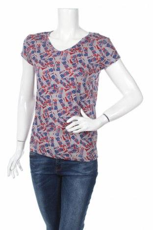 Дамска тениска Andy Warhol By Pepe Jeans, Размер XS, Цвят Многоцветен, 50% лен, 50% памук, Цена 33,12лв.