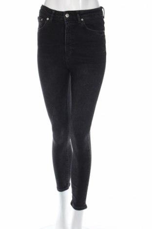 Blugi de femei Zara, Mărime S, Culoare Negru, 94% bumbac, 4% poliester, 2% elastan, Preț 111,79 Lei