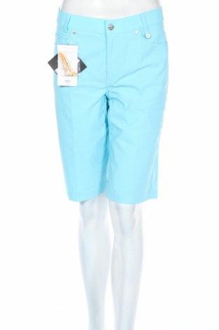 Γυναικείο κοντό παντελόνι Golfino, Μέγεθος L, Χρώμα Μπλέ, 94% πολυαμίδη, 6% ελαστάνη, Τιμή 9,09€