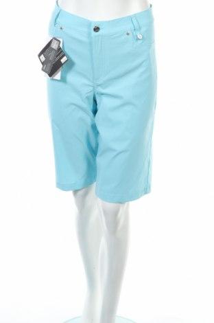 Дамски къс панталон Golfino, Размер L, Цвят Син, 94% полиамид, 6% еластан, Цена 18,40лв.