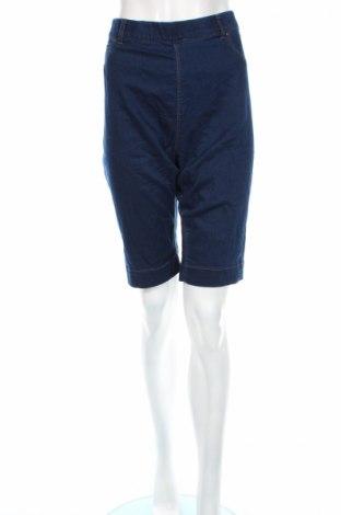 Pantaloni scurți de femei Grae, Mărime XL, Culoare Albastru, 70% bumbac, 29% poliester, 1% elastan, Preț 25,37 Lei