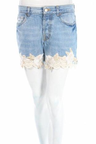 Γυναικείο κοντό παντελόνι Guess, Μέγεθος S, Χρώμα Μπλέ, Βαμβάκι, Τιμή 26,60€