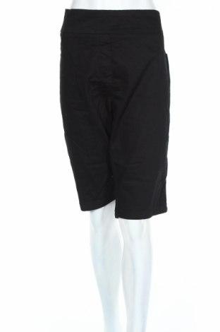 Pantaloni scurți de femei Millers, Mărime XXL, Culoare Negru, 72% bumbac, 26% poliester, 2% elastan, Preț 25,37 Lei