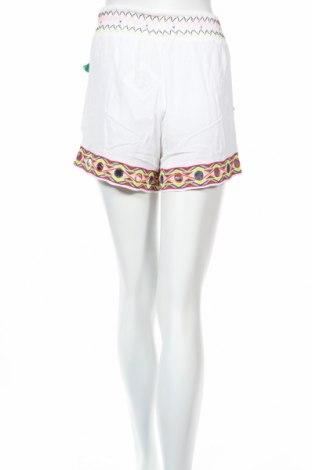 Дамски къс панталон Missguided, Размер S, Цвят Бял, Вискоза, Цена 30,66лв.