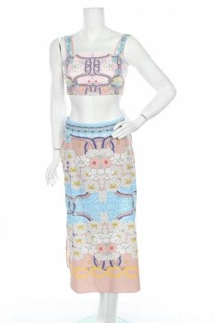 Дамски комплект Comino Couture, Размер S, Цвят Многоцветен, 60% полиестер, 28% полиамид, 12% еластан, Цена 31,96лв.