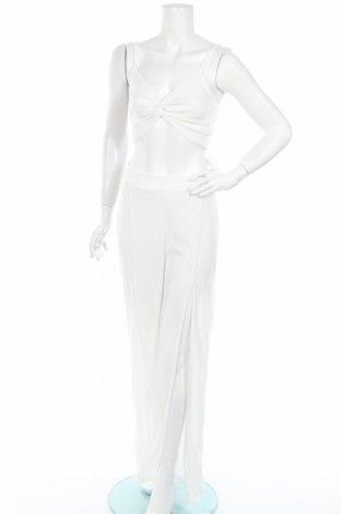 Дамски комплект Missguided, Размер L, Цвят Бял, 95% полиестер, 5% еластан, Цена 13,35лв.