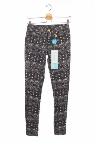 Дамски панталон Allcott, Размер XS, Цвят Черен, 72% памук, 25% полиестер, 3% еластан, Цена 9,10лв.