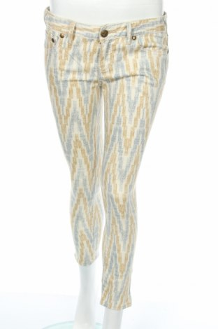 Дамски панталон Free People, Размер M, Цвят Многоцветен, 78% памук, 20% полиестер, 2% еластан, Цена 38,25лв.