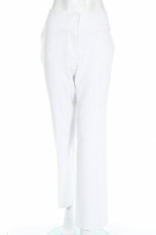 Дамски панталон Nine West, Размер XL, Цвят Бял, 78% полиестер, 18% вискоза, 4% еластан, Цена 74,10лв.