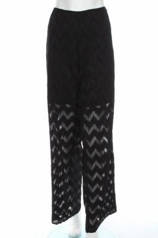 Дамски панталон Silvian Heach, Размер L, Цвят Черен, Полиестер, Цена 43,06лв.