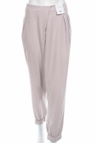 Дамски панталон Topshop, Размер XL, Цвят Бежов, Полиестер, Цена 29,30лв.