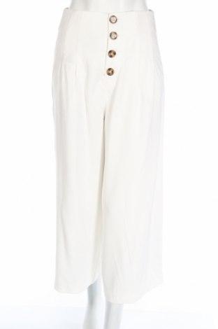 Dámské kalhoty  Zara, Rozměr XS, Barva Bílá, 92% viskóza, 8% polyester, Cena  471,00Kč