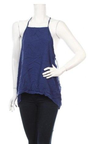 Γυναικείο αμάνικο μπλουζάκι Piping Hot, Μέγεθος XL, Χρώμα Μπλέ, Βισκόζη, Τιμή 3,39€