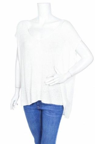 Дамски пуловер Free People, Размер S, Цвят Бял, 82% вискоза, 18% памук, Цена 79,90лв.