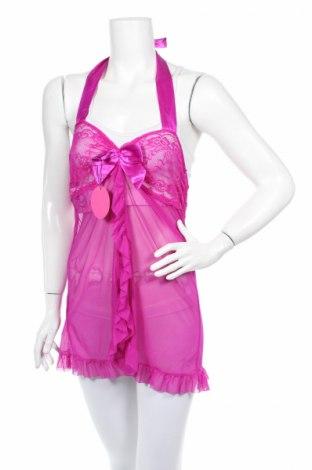 Дамско бельо Adorne, Размер L, Цвят Розов, 65% полиестер, 35% памук, Цена 31,68лв.