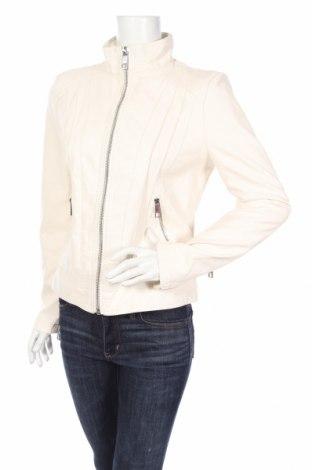 Dámska kožená bunda  Guess, Veľkosť M, Farba Kremová, Eko koža , Cena  59,98€