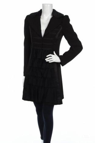 Γυναικείο παλτό Paul Brial, Μέγεθος S, Χρώμα Μαύρο, 94% πολυεστέρας, 6% ελαστάνη, Τιμή 6,06€