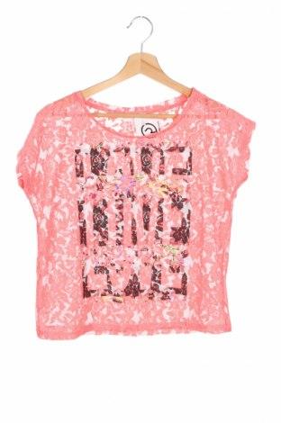 Детска блуза Charles Vogele, Размер 10-11y/ 146-152 см, Цвят Розов, Цена 6,93лв.
