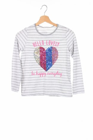Детска блуза Lc Waikiki, Размер 8-9y/ 134-140 см, Цвят Сив, 60% памук, 40% полиестер, Цена 18,20лв.