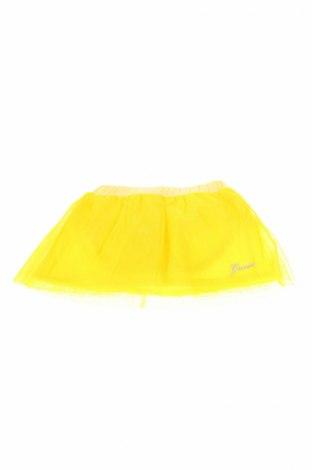 Детска пола Guess, Размер 3-6m/ 62-68 см, Цвят Жълт, 95% памук, 5% еластан, Цена 7,60лв.
