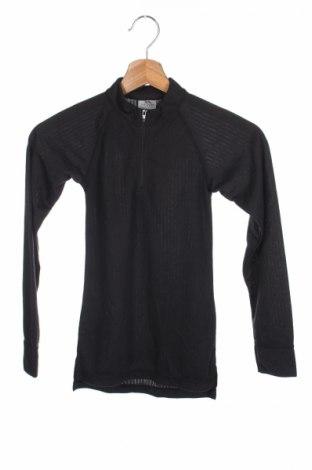 Детска спортна блуза Trespass, Размер 6-7y/ 122-128 см, Цвят Черен, Полиестер, Цена 3,60лв.