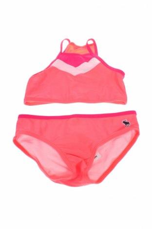 Детски бански Abercrombie Kids, Размер 11-12y/ 152-158 см, Цвят Розов, 80% полиамид, 20% еластан, Цена 69,30лв.