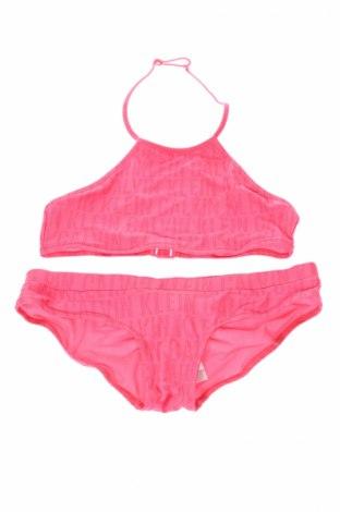Strój kąpielowy dziecięcy Calvin Klein, Rozmiar 14-15y/ 168-170 cm, Kolor Różowy, 80% poliester, 20% elastyna, Cena 103,60zł