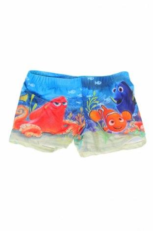 Детски бански Disney, Размер 2-3y/ 98-104 см, Цвят Многоцветен, 85% полиестер, 15% еластан, Цена 12,76лв.
