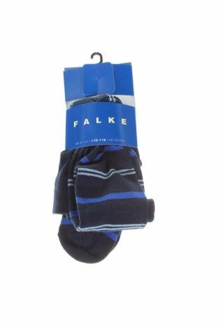 Детски спортни чорапи Falke, Размер 4-5y/ 110-116 см, Цвят Черен, 77% памук, 22% полиамид, 1% еластан, Цена 23,04лв.