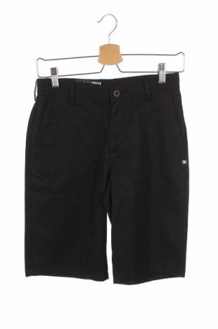 Detské krátke nohavice  DC Shoes, Veľkosť 11-12y/ 152-158 cm, Farba Čierna, 60% bavlna, 39% polyester, 1% elastan, Cena  12,45€