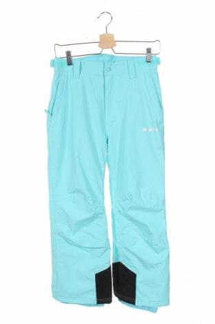 Детски панталон за зимни спортове Nevica, Размер 10-11y/ 146-152 см, Цвят Син, 100% полиестер, Цена 44,03лв.