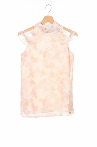 Μπλουζάκι αμάνικο παιδικό Guess, Μέγεθος 15-18y/ 170-176 εκ., Χρώμα Πολύχρωμο, Πολυεστέρας, Τιμή 18,14€